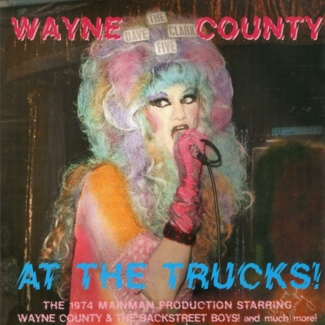 Wayne County At The Trucks album cover